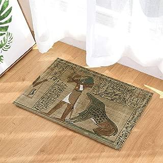 エジプトの装飾エジプトの古代アートパピルスはホルスを描いています 80x50cm