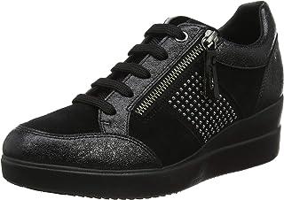 Geox D Leelu' E, Baskets Basses Femme: : Chaussures
