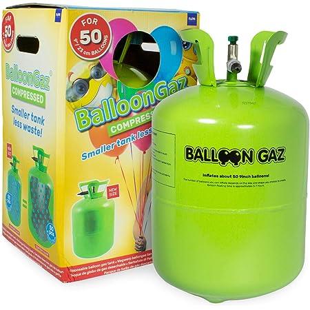 Mylar Super Shape 85x60 cm Helium Ballongas Einweg für ca.50 Luftballons