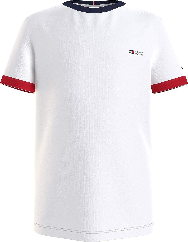 Tommy Hilfiger Ringer tee S/S Camisa para Niños