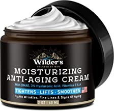 Sponsored Ad - Men's Face Cream Moisturizer - Anti Aging Facial Skin Care - Made in USA - Collagen, Retinol, Hyaluronic Ac...