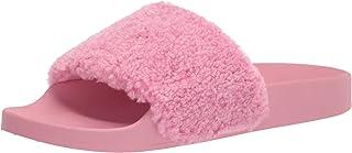 Steve Madden Shear Slide Sandal Pink 5 M
