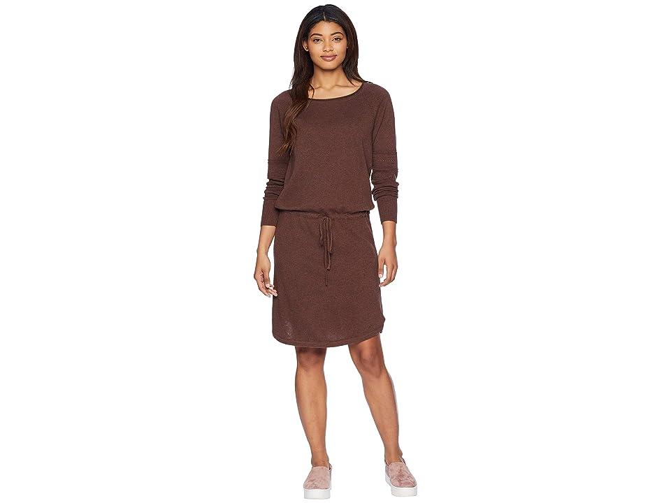 Prana Leigh Dress (Wedged Wood Heather) Women