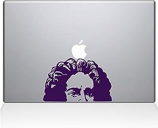 "The Decal Guru Newton's Apple Decal Vinyl Sticker, 15"" MacBook Pro (2016 & Newer Models), Lavender (2339-MAC-15X-LAV)"