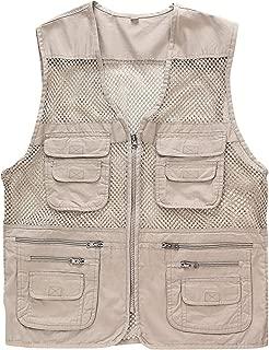 Men's Mesh Multi Pockets Outdoor Fishing Safari Travel Vest