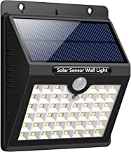 46 LED Solar Lights Outdoor - Daffodil LEC800B - Solar Motion Sensor Security Lights with 270 Wide Angle 3 Intelligent Lig...