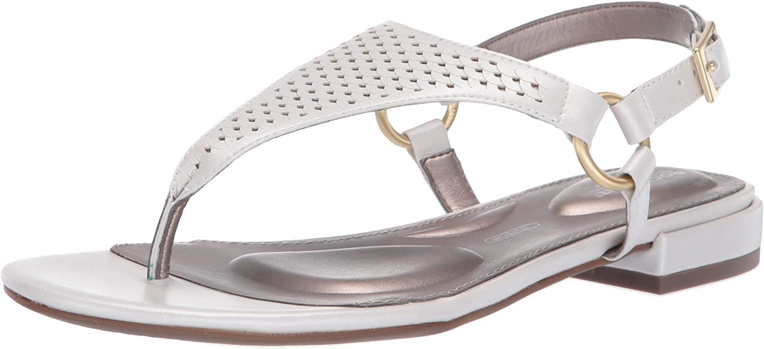 Rockport Womens Tm Zosia Thong Flat Sandal