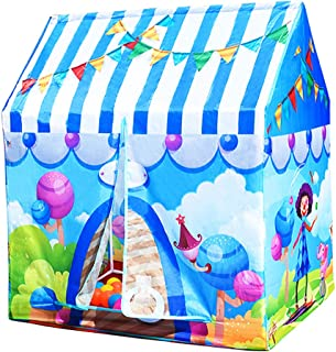 Perfeclan Circus Play Tent – Kids Play and Exploration Discovery Station for Early Learning and Muscle Development – Indoor/Outdoor Use
