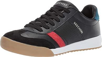 Skechers Women's Zinger Rockers. Leather and Suede Retro Trainer Sneaker