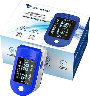 DR VAKU® Swadesi Pulse Oximeter Fingertip, Blood Oxygen Saturation Monitor Fingertip, Blood Oxygen Meter Finger Oximeter F...