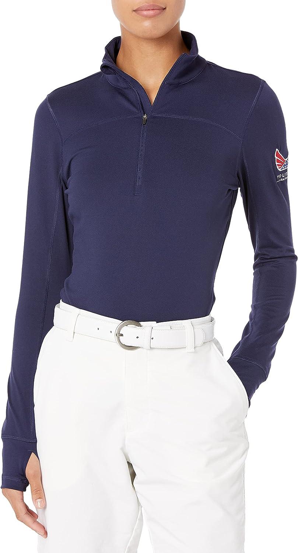 PUMA Golf Womens 2017 Women's Popover Volition 大規模セール バースデー 記念日 ギフト 贈物 お勧め 通販 4 Zip 1