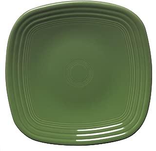 Fiesta 9-1/8-Inch Square Luncheon Plate  Shamrock