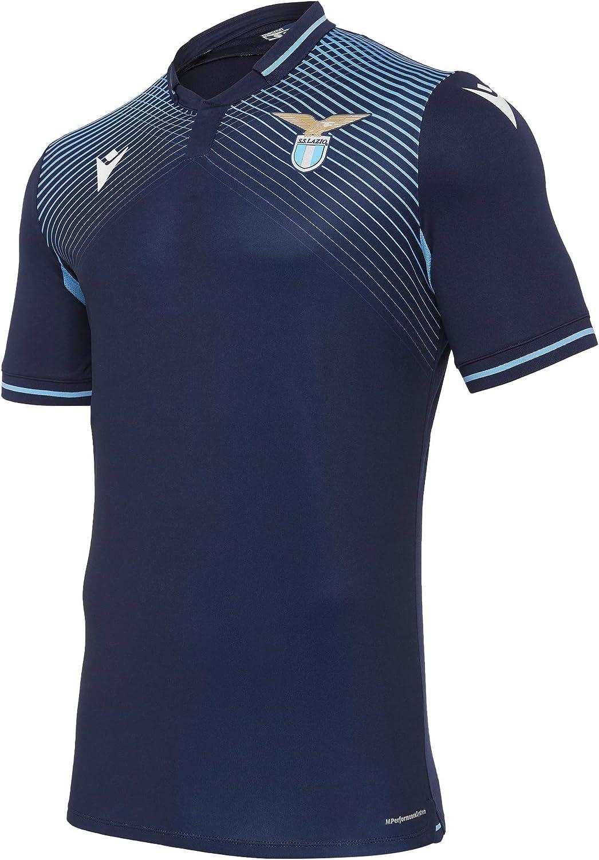 Macron SSL M20 Maglia Gara Third Ufficiale Mm Sr Terza Camiseta SS Lazio 2020/21 Hombre