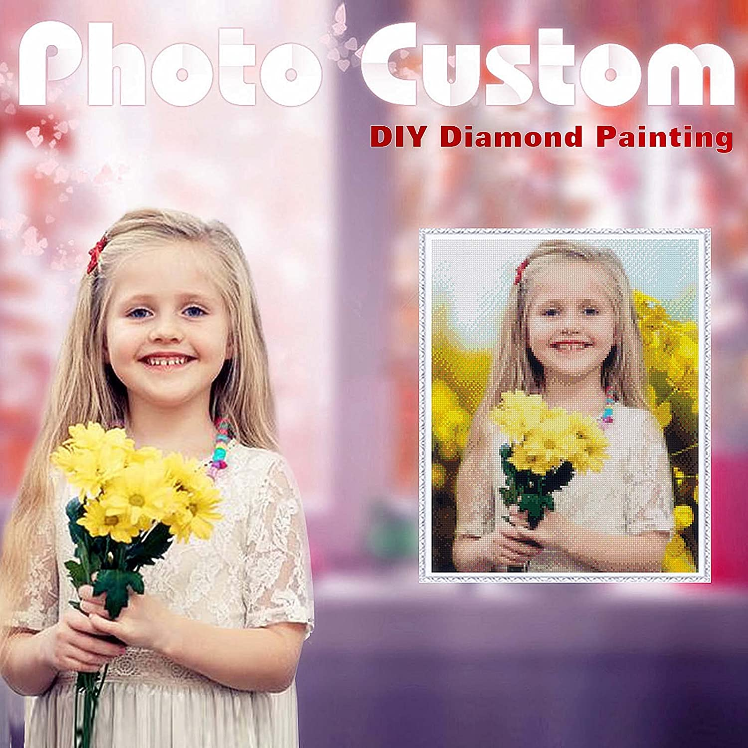 Custom Diamond Painting Denver Mall 35% OFF Kits for Photo Adults,Personalized