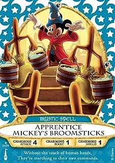 Disney Sorcerers of The Magic Kingdom Apprentice Mickey's Broomsticks Game Card