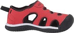 Black/Fiery Red