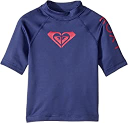 Whole Hearted Short Sleeve Rashguard (Toddler/Little Kids/Big Kids)