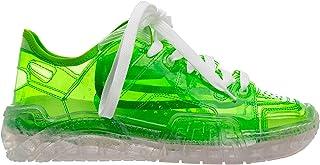 GCDS Sneakers Skate Uomo Lime trasparent