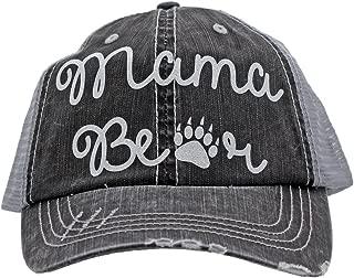 Mama Bear Paw Print Trucker Style baseball Cap Hat Rocks any Outfit