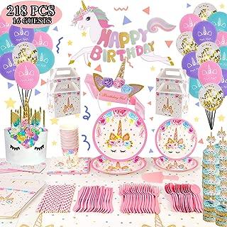 Best unicorn party supplies set Reviews