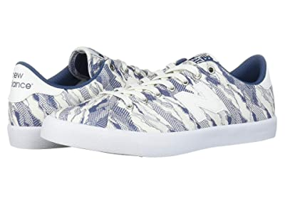New Balance Numeric AM210 (White/Blue) Skate Shoes