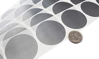 My Scratch Offs 2 Inch Silver Round Scratch Off Sticker Labels - 100 Pack