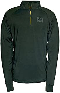 comprar comparacion CAT Workwear Mens Contour Polyester Elasthane 1/4 Zip Sweatshirt