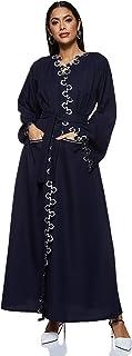 Nukhbaa Women's Abaya, Blue