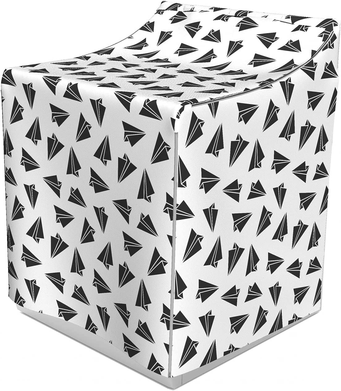 Ambesonne Airplane Washer Cover Pattern 35% OFF Simplistic Regular dealer Greyscale of