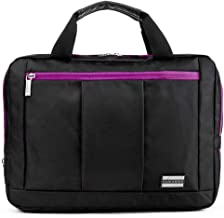 Carrying Messenger Bag Hybrid 3 in 1 for RCA 8 inch Mars 8, 8 inch Apollo II, 7 Voyager II, Tablets up to 11.5 inches (Purple)