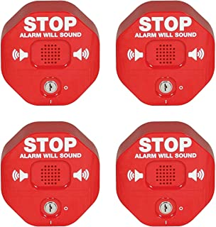 Safety Technology International, Inc. STI-6400 Exit Stopper Multifunction Door Alarm, Helps Prevent Unauthorized Exits or ...