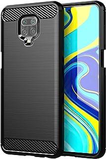 MANGOFISHER Case Cover for Xiaomi Redmi Note 9S,Slim Thin Silicone Soft Skin Flexible TPU Gel Rubber Bumper Anti-Scratch S...