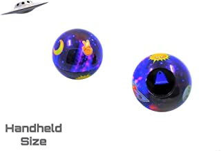 Retro Galaxy Theme Emoji Magic Ball | Mini-Size | Only One in the Market | Fortune Teller | Question 8 Ball Game that Answers Questions & Gives Advice | Gift Ideas | Party Supplies | Toys for all Ages