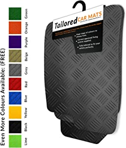 fit Renegade  2015   Tailored Black Rubber Car Mats Heavy Duty  1683