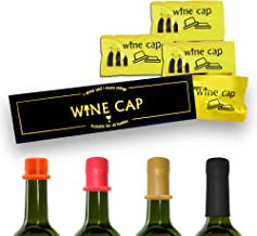 8 Pcs//Set Airtight Wine Caps Wine Bottle Stopper Condom Style Bottle Topper Keep Fresh Wine Party Novelty Cork Replacements