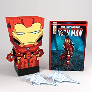 Far Out Toys - Pulp Heroes Snap Bots Marvel (Iron Man)