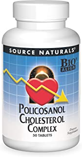 SOURCE NATURALS Policosanol Cholesterol Complex Tablet, 30 Count