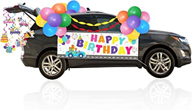 Birthday Parade Car Decorations Kit - Honk It's My Birthday Theme Car Decorations Set Quarantine Birthday Party Decoration...