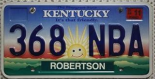 Kentucky Auto Kennzeichen, USA Nummernschild, US License Plate, Metallschild