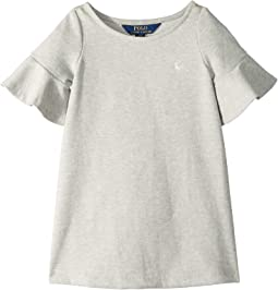 Ponte Bell-Sleeve Dress (Toddler)