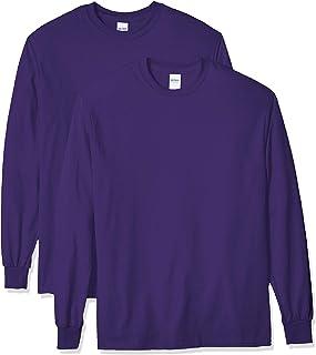 Sponsored Ad - Gildan Men's Ultra Cotton Long Sleeve T-Shirt, Style G2400, 2-Pack