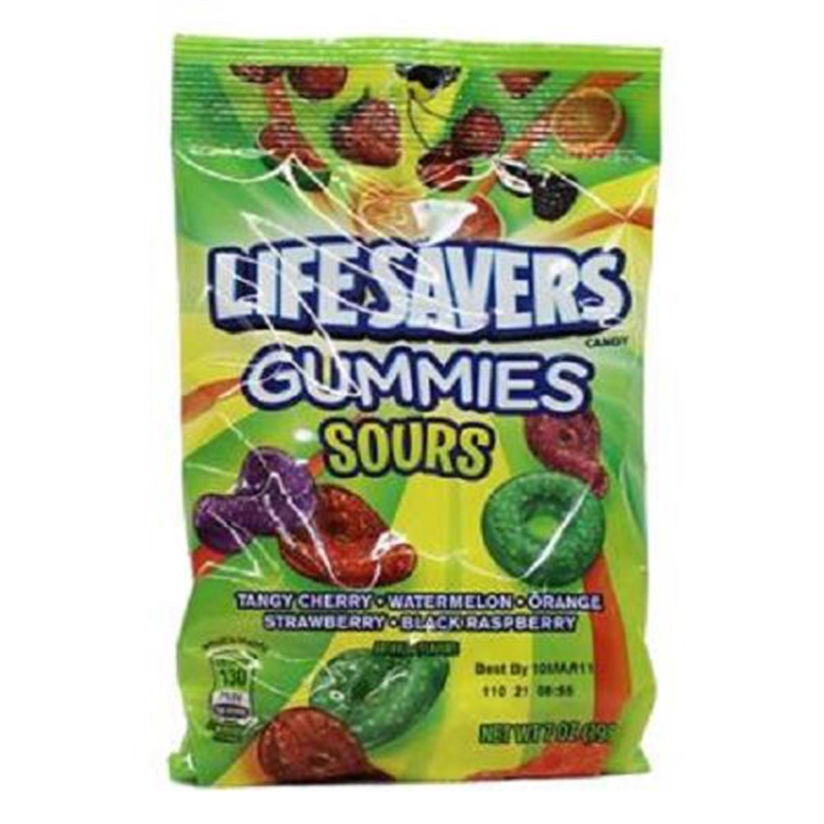 Lifesavers Gummies Sours Count 12 Courier shipping Las Vegas Mall free 7 Quantity oz Package 2 X