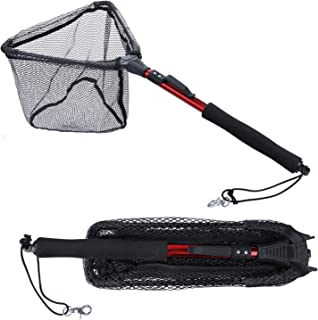 Sougayilang Fishing Net Fish Landing Net, Foldable...