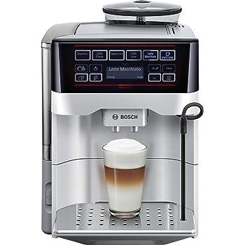 Bosch TES60321RW - Cafetera súper automática (15 bares de presión, depósito de 1.7 L, 5 tipos de café): Amazon.es: Hogar
