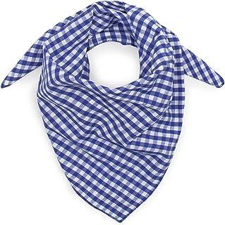 Bleu Marine et Blanc /à carreaux GENTLEMAN FARMER FOULARD HOMME CHEICH CHECHE VISCOSE ECHARPE KEFFIEH
