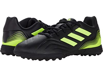 adidas Kids Copa Sense.3 Turf Soccer (Little Kid/Big Kid) (Black/White/Solar Yellow) Kid