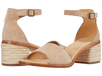 Soludos Capri Mid Heel (Sand) Women