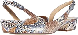 Pastel Multi Snake Print Leather