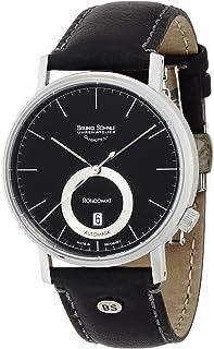 [ブルーノ ゾンレー] 腕時計 17-12098-741 正規輸入品 ブラック