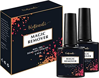 VieBeauti New Professional Magic Gel Nail Polish Remover, Lift Soak-Off Gel Nail Polish Easily. 2Pcs